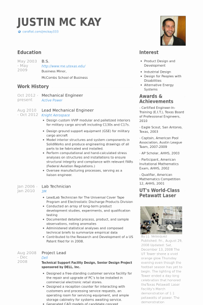 Mechanical Engineering Curriculum Vitae Lovely Mechanical Engineering Resume