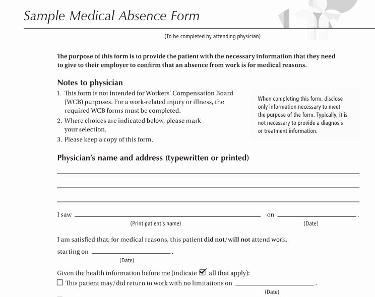 Medical Excuse Note for Work New 27 Free Doctor Note Excuse Templates Free Template