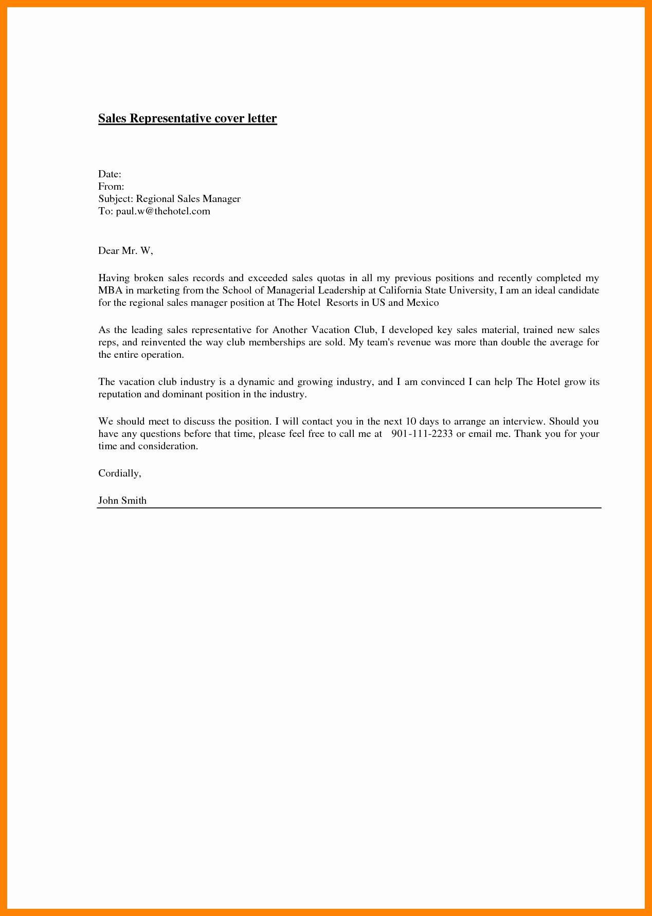 Medical Sales Cover Letter Best Of 10 Medical Sales Cover Letter