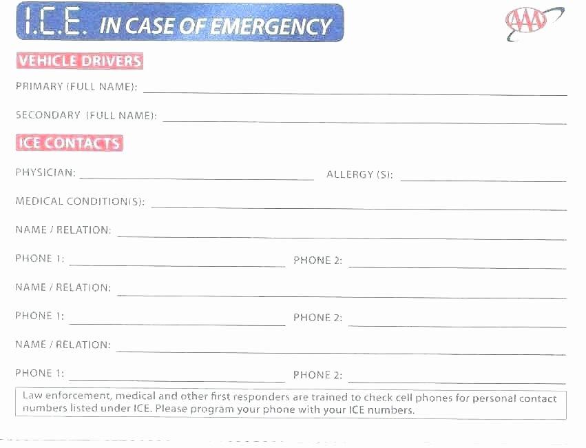 Medication Card for Wallet Awesome Medication Wallet Card Wallet Design