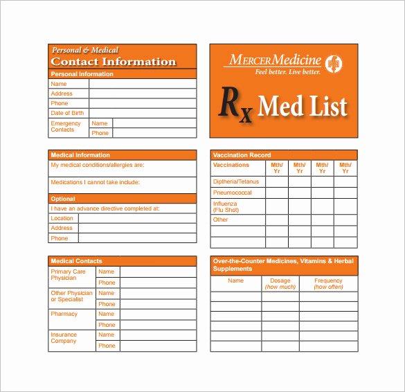 Medication Cards for Wallet Lovely Medication Wallet Card Wallet Design