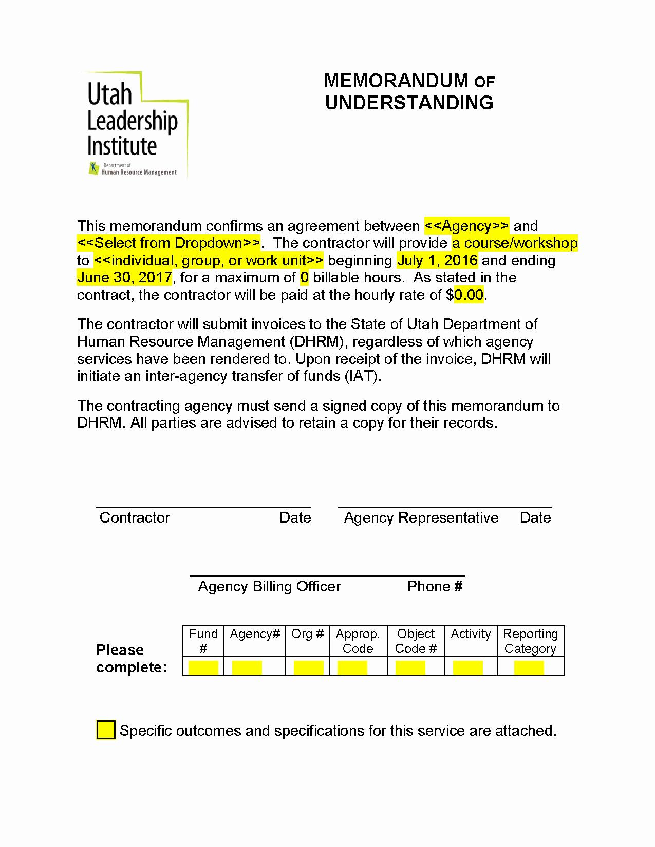 Memorandum Of Agreement Samples Best Of Memorandum Of Understanding Mou