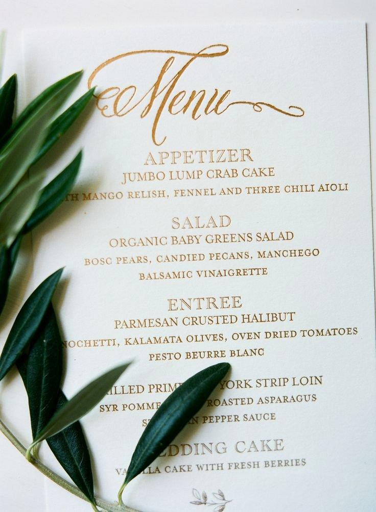 Menu Card for Buffet Wedding Elegant 25 Best Ideas About Wedding Menu Cards On Pinterest