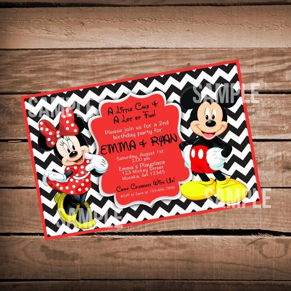 Mickey and Minnie Mouse Invitations Lovely 1000 Ideas About Mickey Minnie Mouse On Pinterest