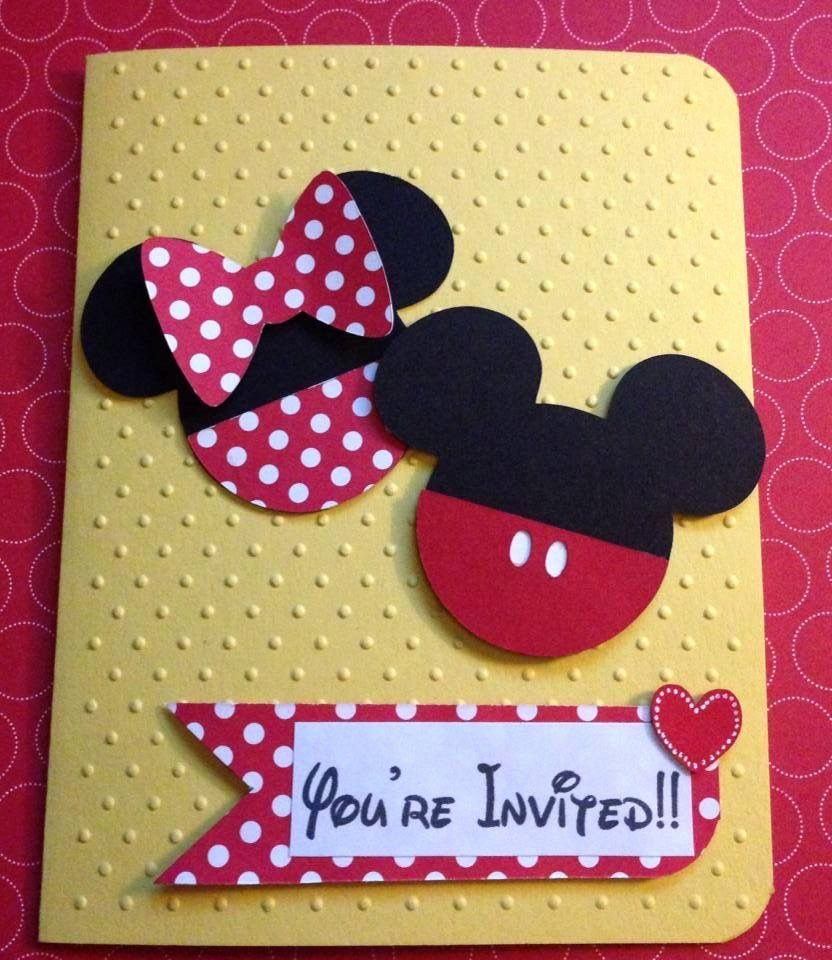 Mickey and Minnie Party Invitations Beautiful Mickey and Minnie Birthday Party Invitations Minnie Mouse