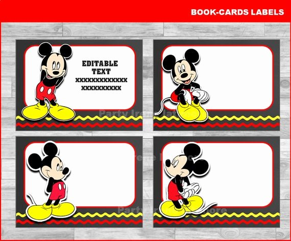 Mickey Mouse Address Label Beautiful Mickey Mouse School Label Name Label Name Tag Sticker