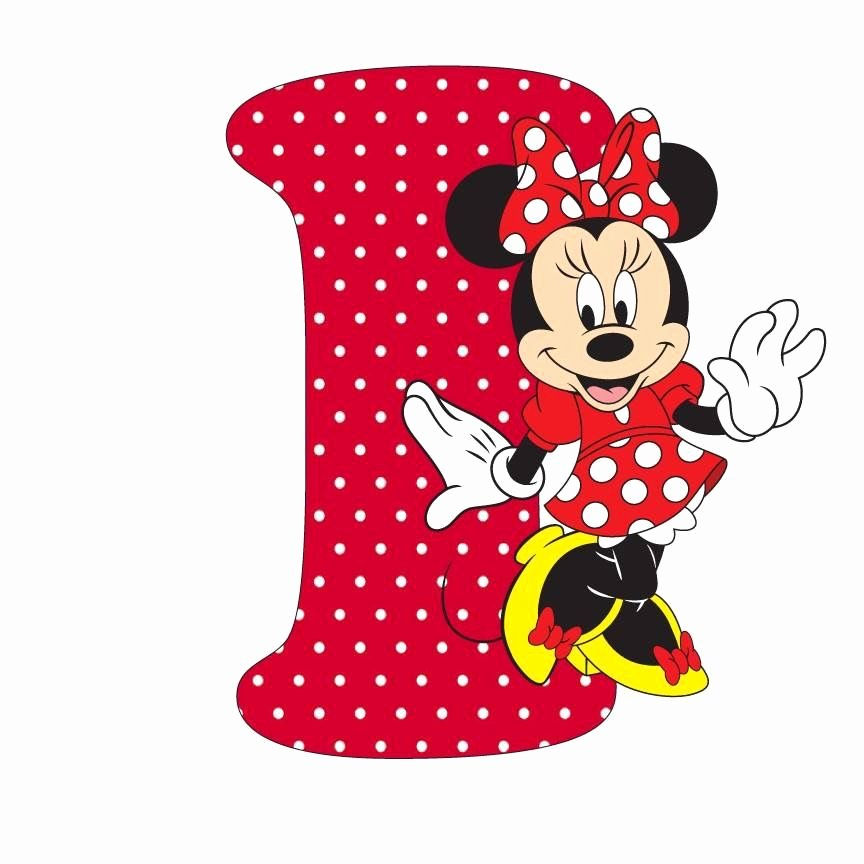 Mickey Mouse Alphabet Letters Best Of Pin by Olga Ros On Abecedarios Pinterest