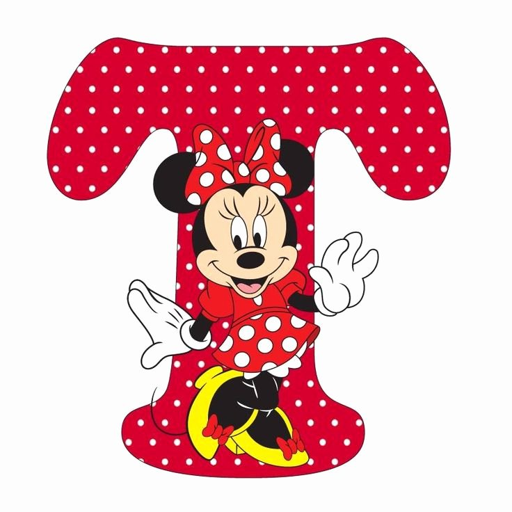 Mickey Mouse Alphabet Letters Unique 991 Best Mickey E Minnie Iii Images On Pinterest