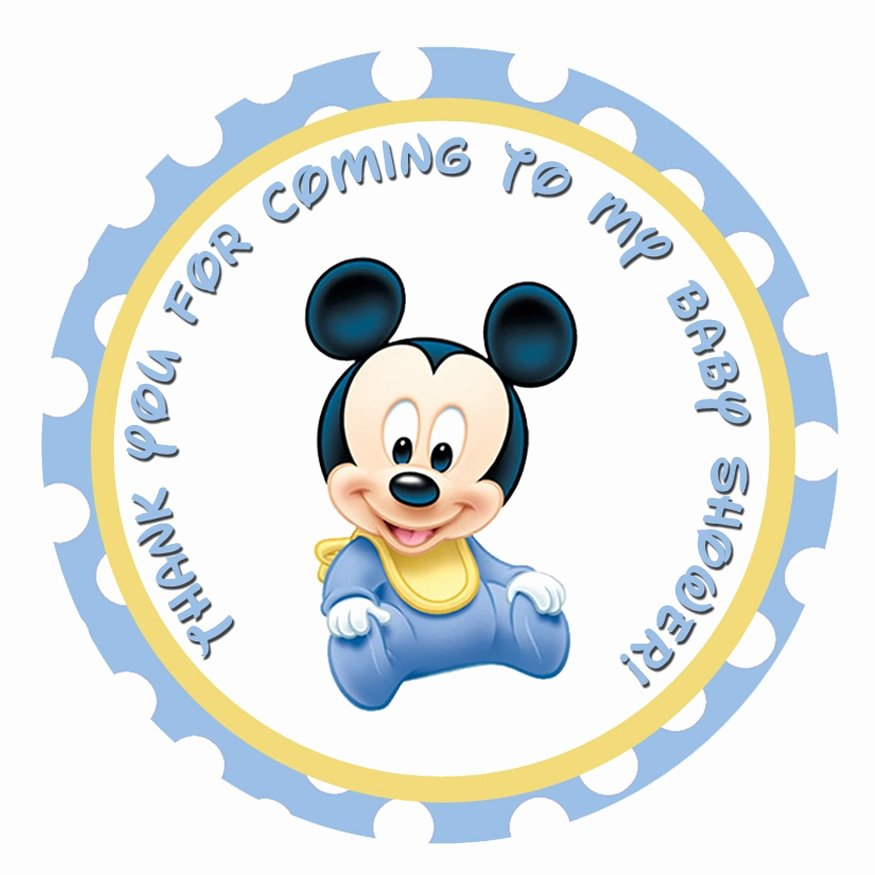 Mickey Mouse Baby Shower Invitation New Baby Mickey Mouse Baby Shower Ultrasound Invitations
