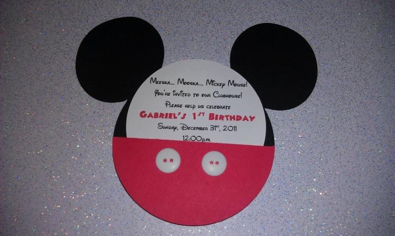 Mickey Mouse Birthday Invitations Wording Beautiful Mickey Mouse Bday Invitation Sample