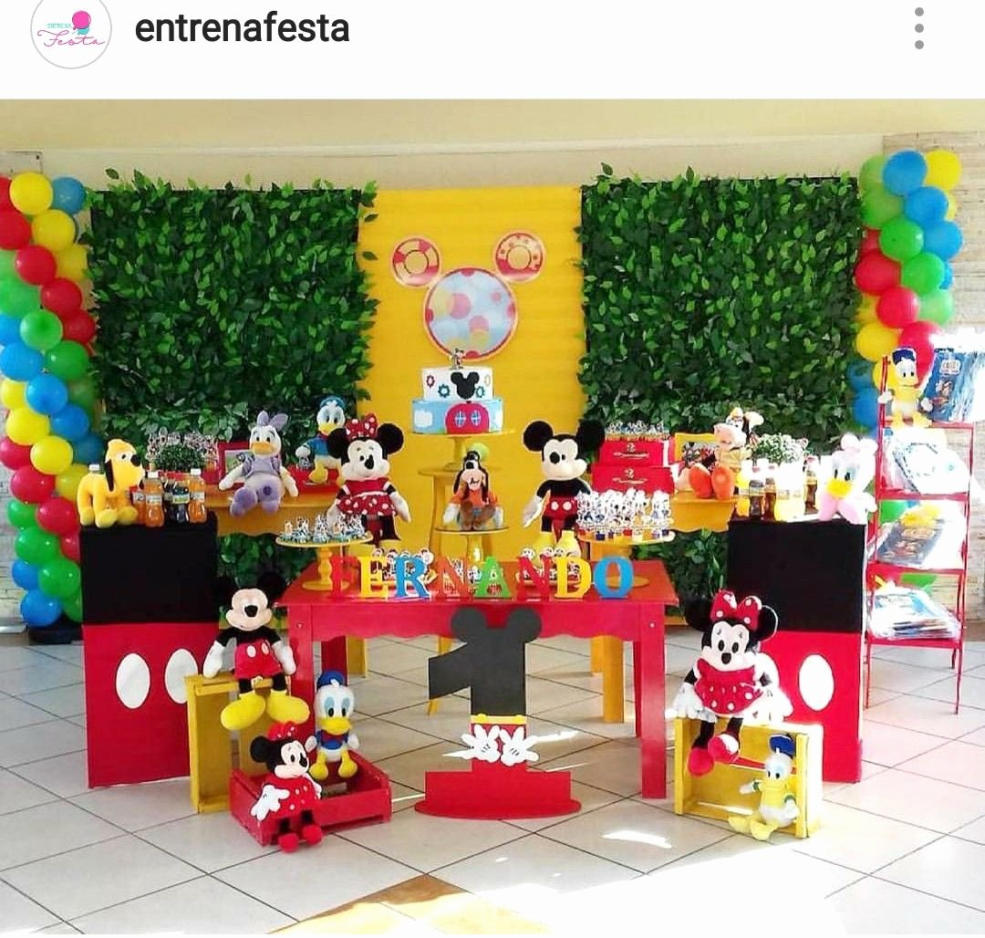 Mickey Mouse Clubhouse 2nd Birthday Awesome Mickey Mouse Clubhouse Birthday Party Dessert Table and