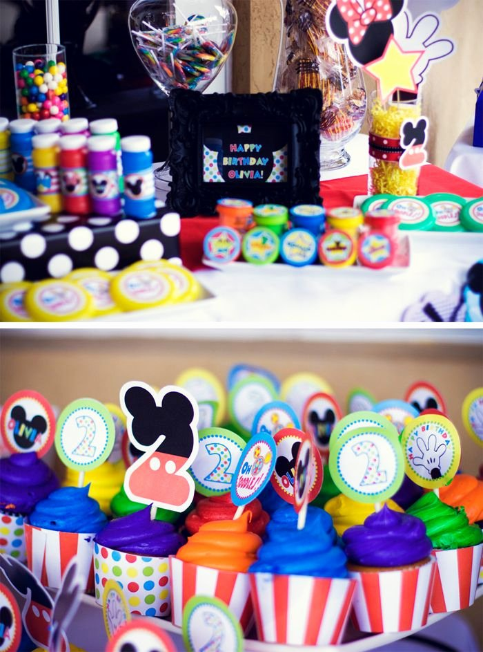 Mickey Mouse Clubhouse 2nd Birthday Inspirational Mickey Mouse Clubhouse 2nd Birthday Party