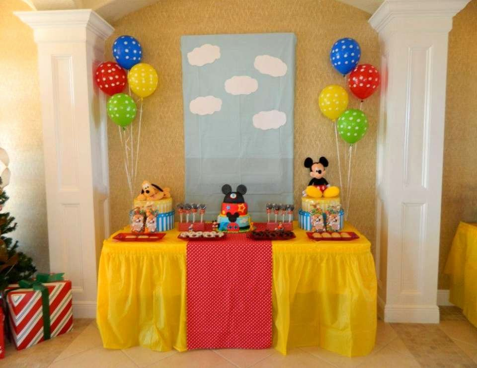 """Mickey Mouse Clubhouse 2nd Birthday Inspirational Mickey Mouse Clubhouse Birthday """"anthony S 2nd Birthday"""
