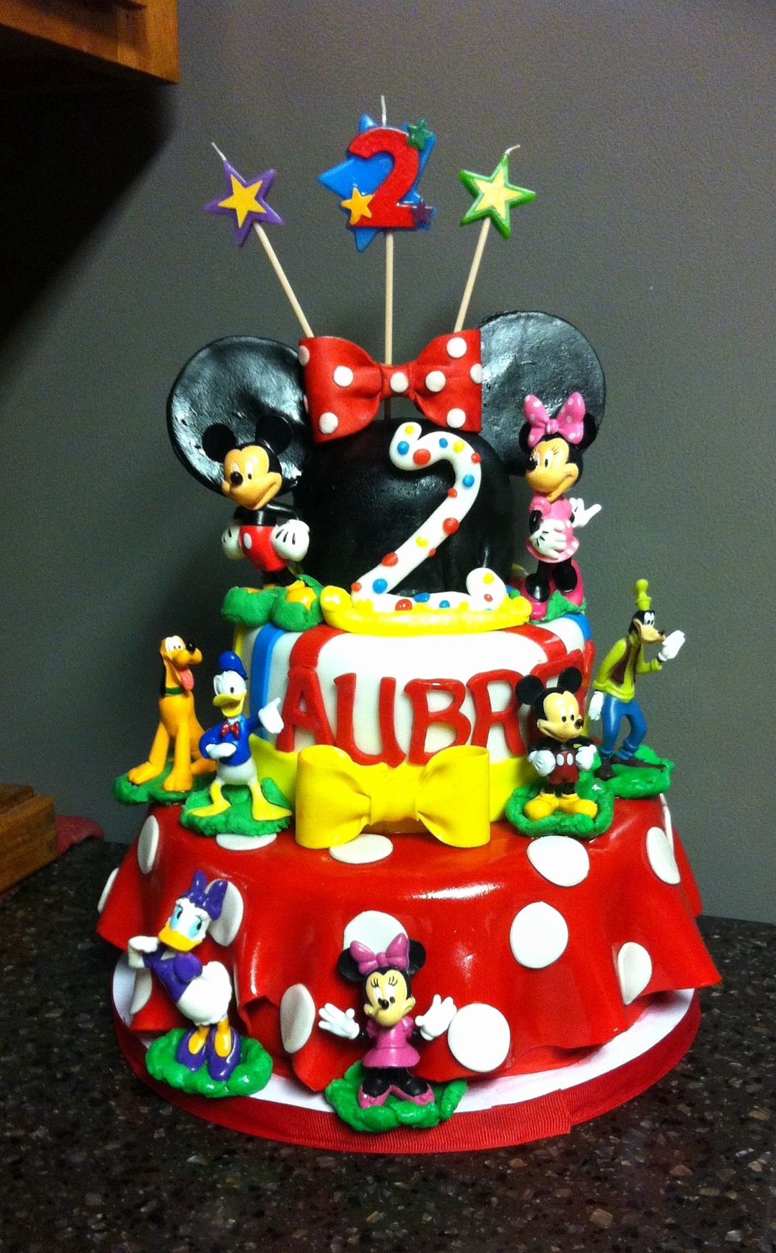 Mickey Mouse Clubhouse 2nd Birthday Lovely Mickey Mouse Clubhouse Birthday Cake for A 2 Yr Old Little