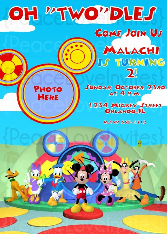 Mickey Mouse Clubhouse 2nd Birthday New 65 Best 3rd Birthday Mickey Mouse Clubhouse Images On