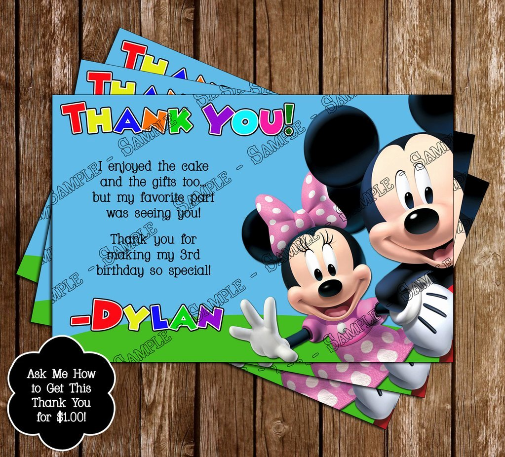 Mickey Mouse Clubhouse Birthday Invitations New Novel Concept Designs Disney Mickey Mouse Clubhouse
