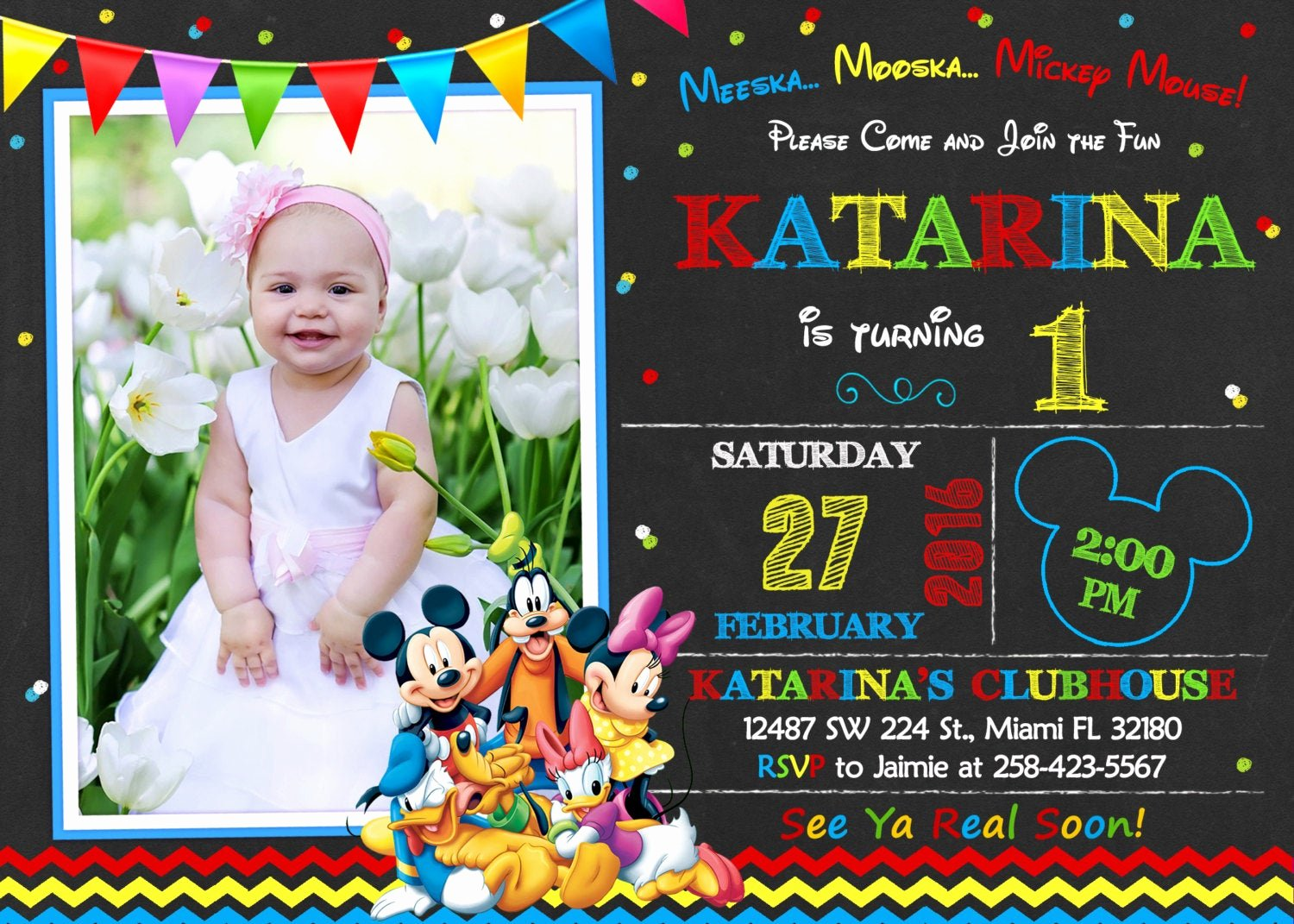Mickey Mouse Clubhouse Invitation New Mickey Mouse Clubhouse Invitation Birthday Mickey Mouse