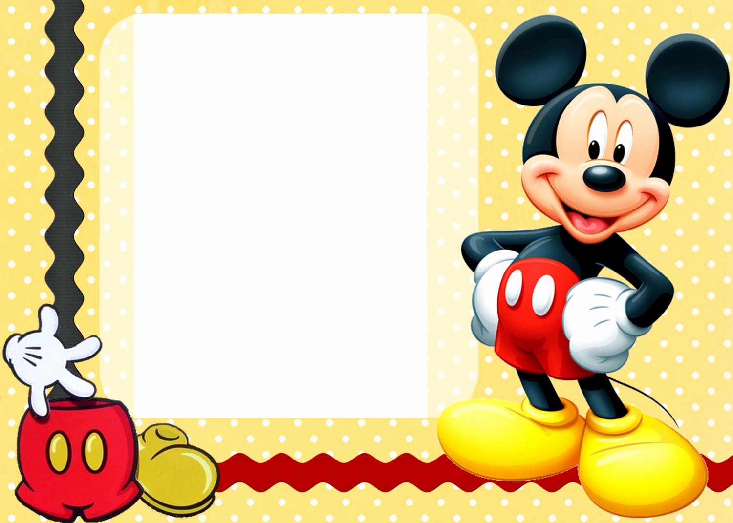 Mickey Mouse Clubhouse Invitation Template Best Of Free Printable Mickey Mouse Birthday Cards