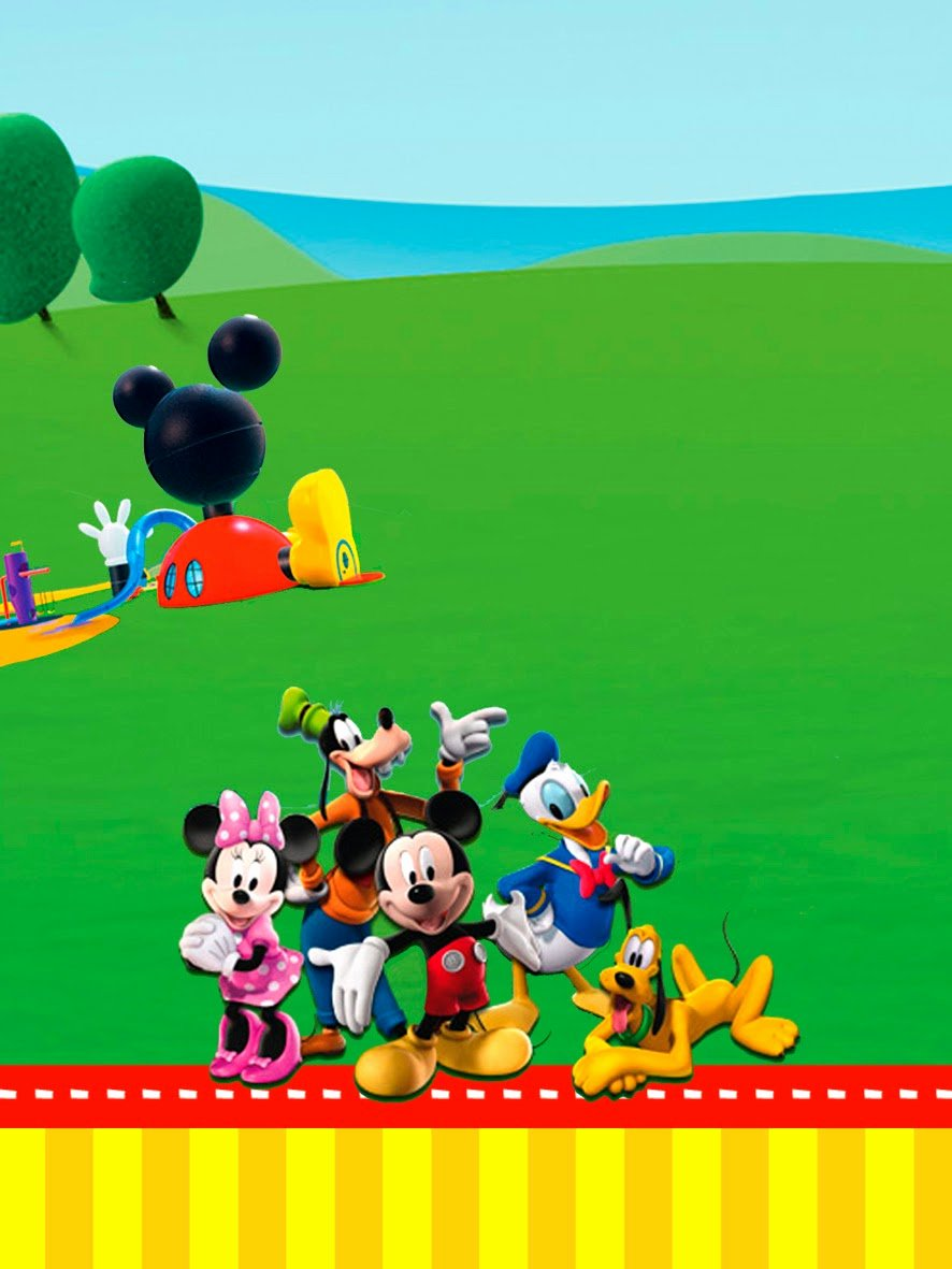 Mickey Mouse Clubhouse Invitation Template Best Of Mickey Clubhouse Invitations and Party Free Printables