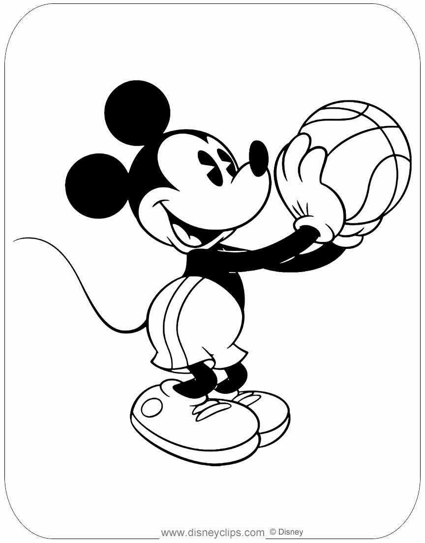 Mickey Mouse Colouring Sheets Awesome Classic Mickey Mouse Coloring Pages