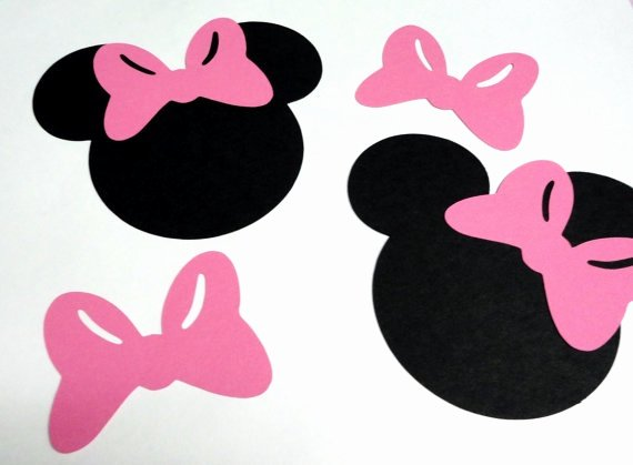 Mickey Mouse Head Cutout Template Best Of 1000 Ideas About Minnie Mouse Silhouette On Pinterest