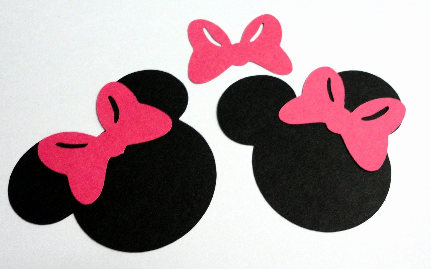 Mickey Mouse Head Cutout Template Fresh 30 2 5 Minnie Mouse Head Silhouettes Black Cutouts