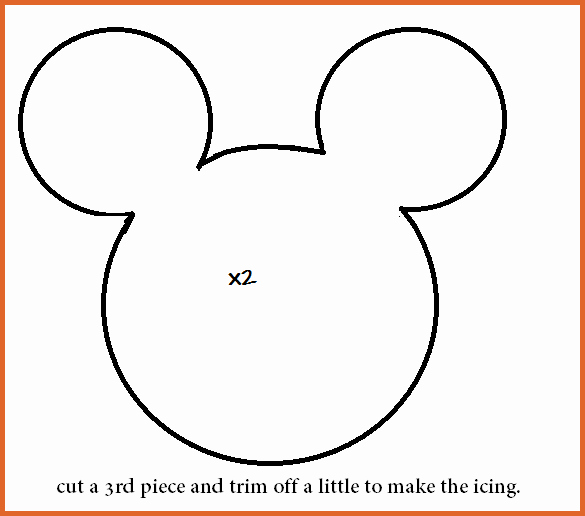 Mickey Mouse Head Cutout Template Luxury Mickey Mouse Head Template Free Download Clip Art Carwad
