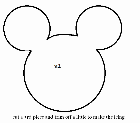 Mickey Mouse Head Stencil Elegant How to Make A Minnie Mouse Cookie Plushie Tutorial