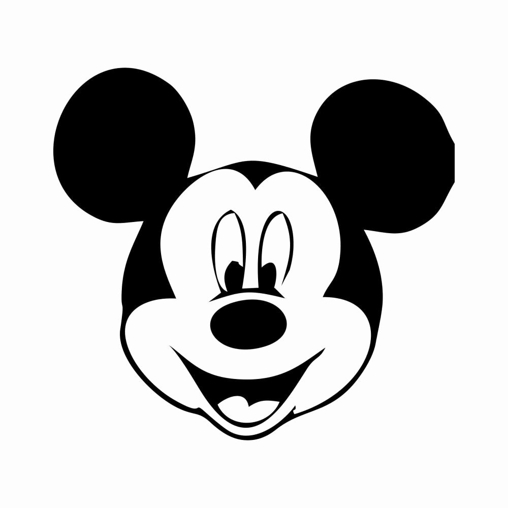 Mickey Mouse Head Stencil New Free Printable Mickey Mouse Template
