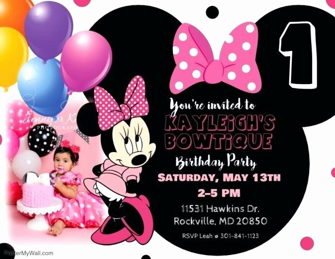 Mickey Mouse Invitation Maker Best Of Mickey Mouse Party Invitations Personalized