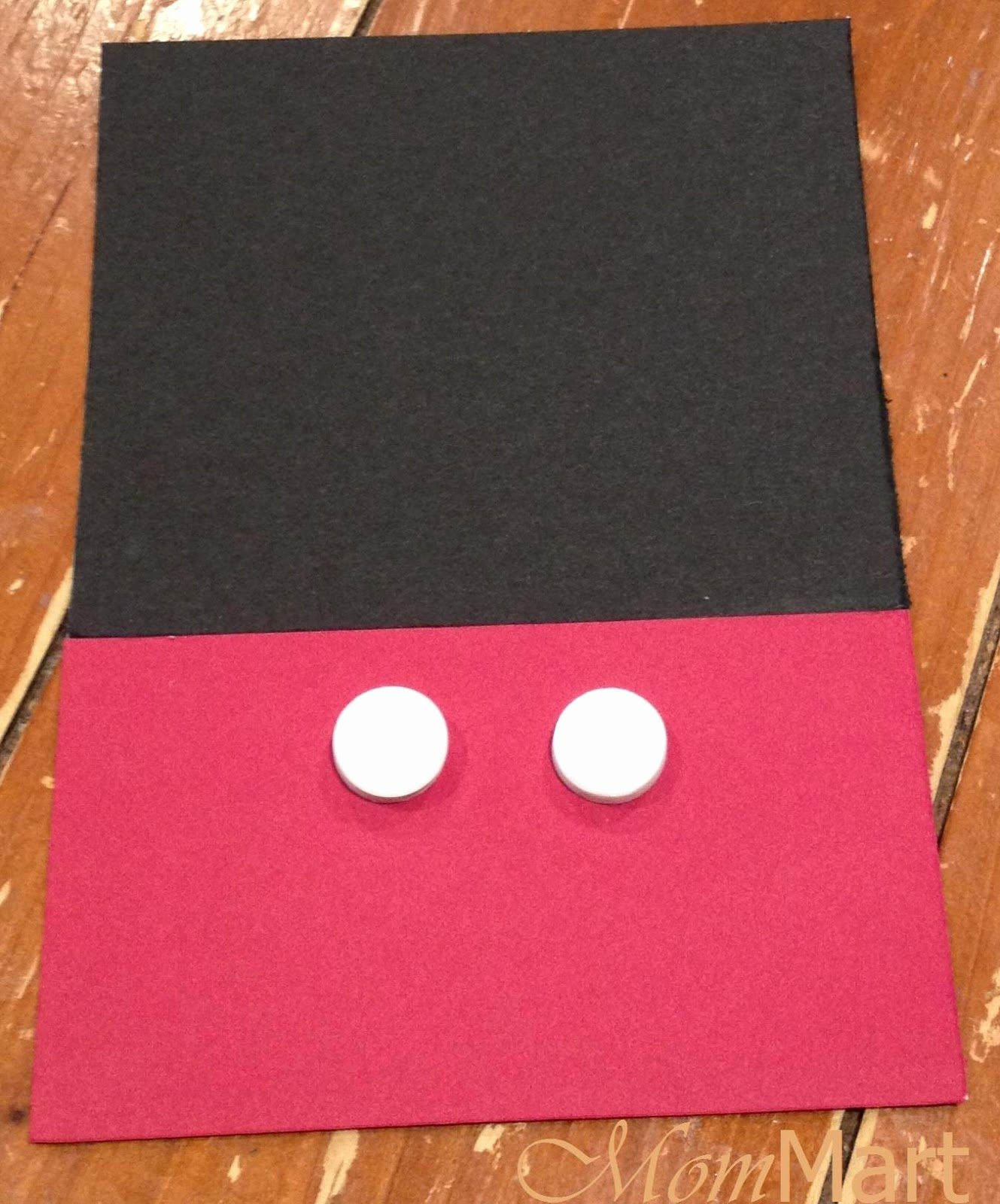 how to make mickey mouse invitations m=1