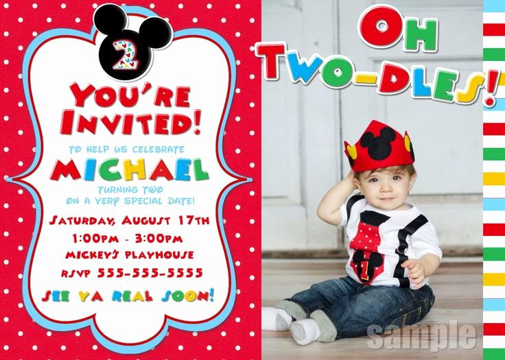 Mickey Mouse Invitation Maker Unique Best 25 Mickey Clubhouse Ideas On Pinterest