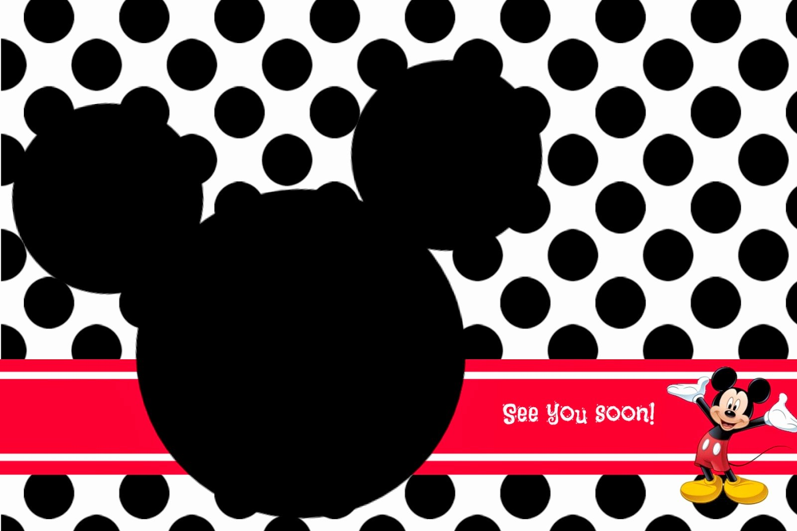 Mickey Mouse Invitation Template New Random Ramblings