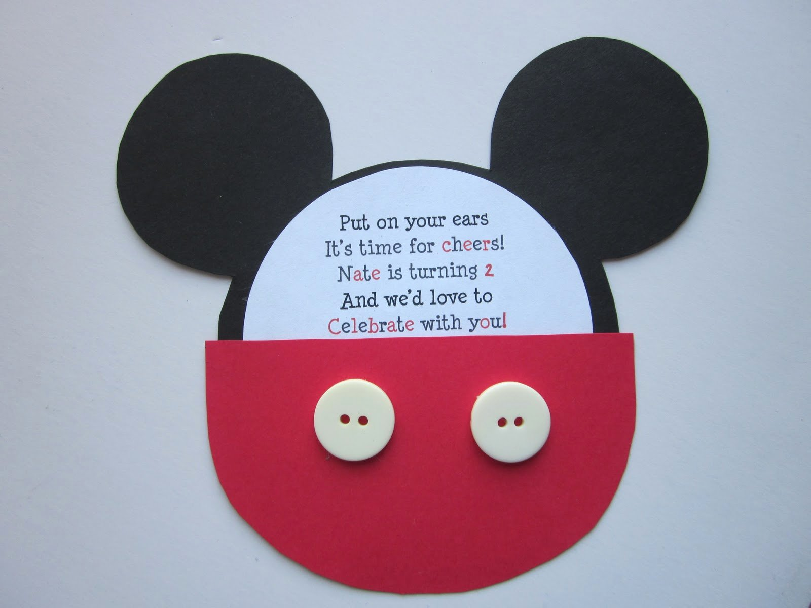 Mickey Mouse Invitation Wording Beautiful In Flight Party Ideas Mickey Mouse Birthday Invitation