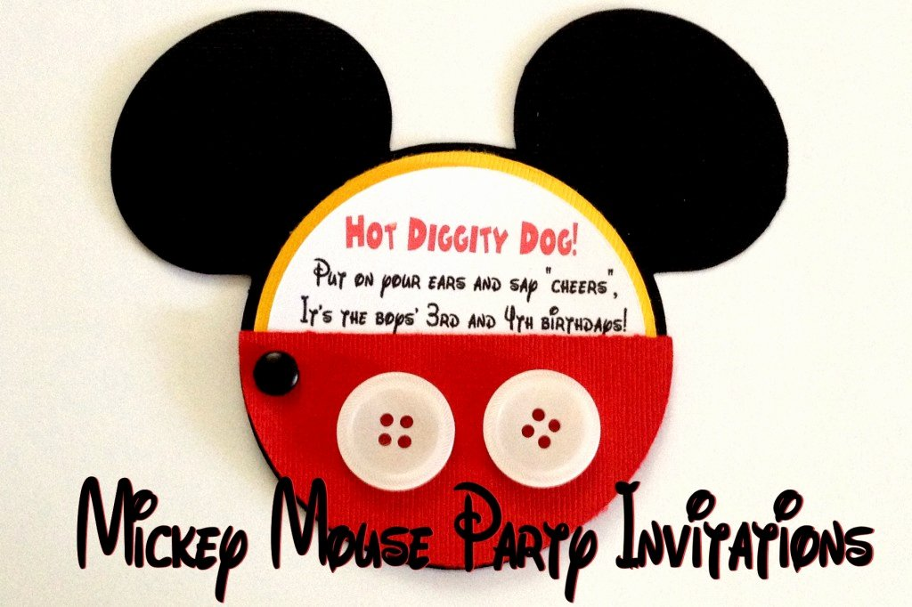 Mickey Mouse Invitation Wording Fresh Mickey Mouse Party Invitations Amy Latta Creations