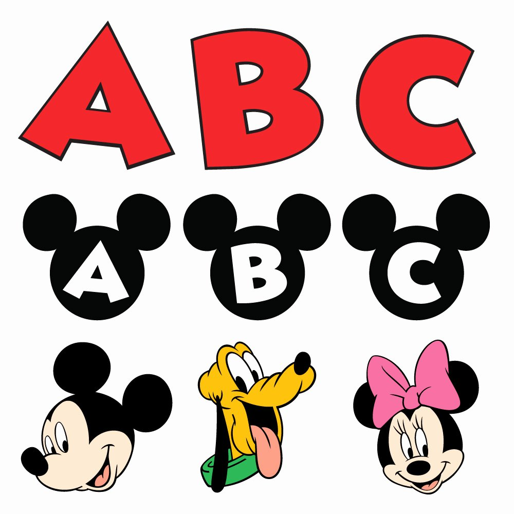 Mickey Mouse Letters Font Fresh Mickey Mouse Font Tattoo