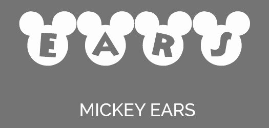 Mickey Mouse Letters Font Lovely 59 Free Disney Fonts for Download July 2018 Edition