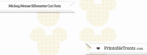 Mickey Mouse Pattern Cut Out Inspirational Eggshell Quatrefoil Pattern Small Mickey Mouse Silhouette