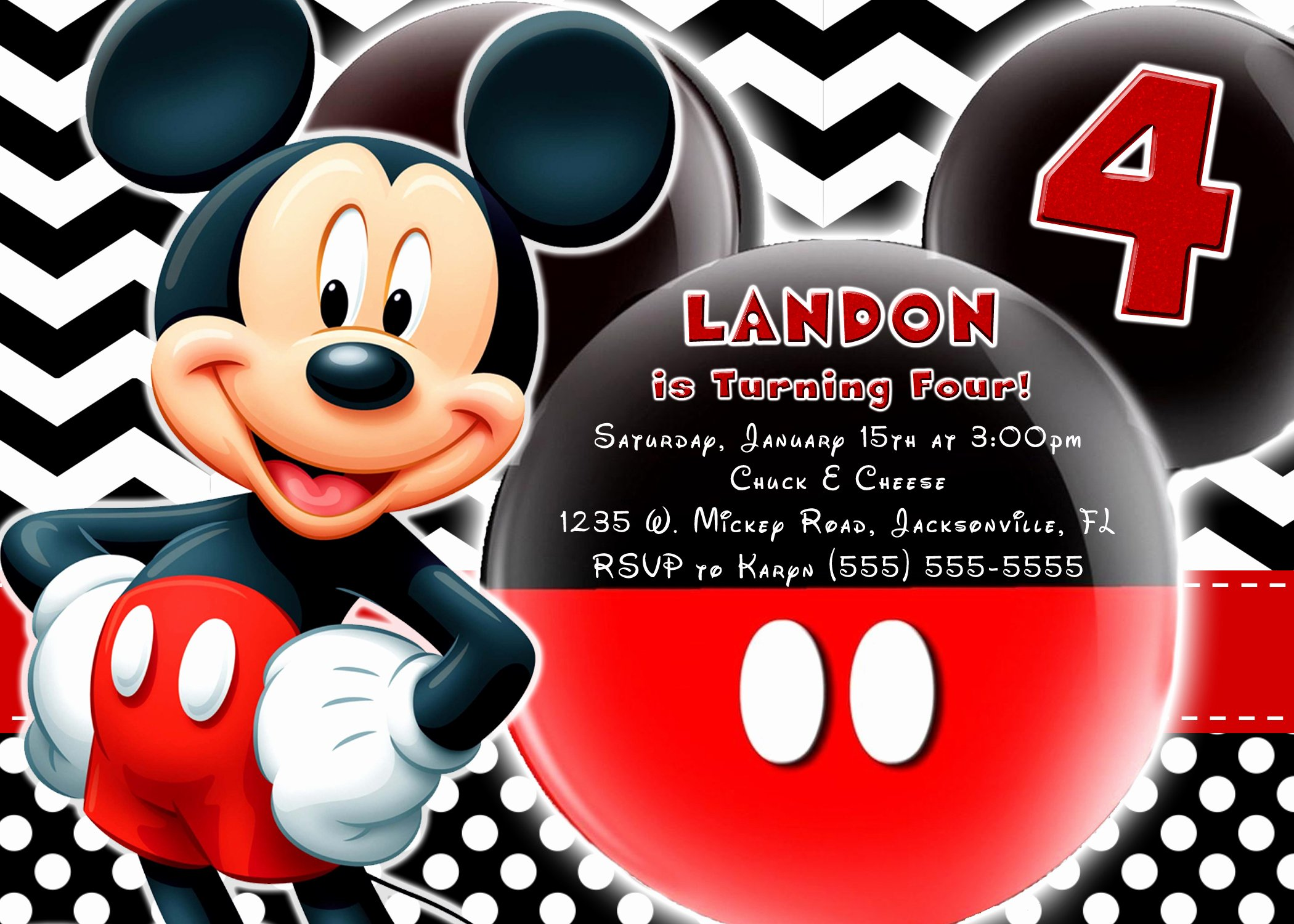 Mickey Mouse Picture Invitations Awesome Mickey Mouse and Mickey Mouse Clubhouse Birthday