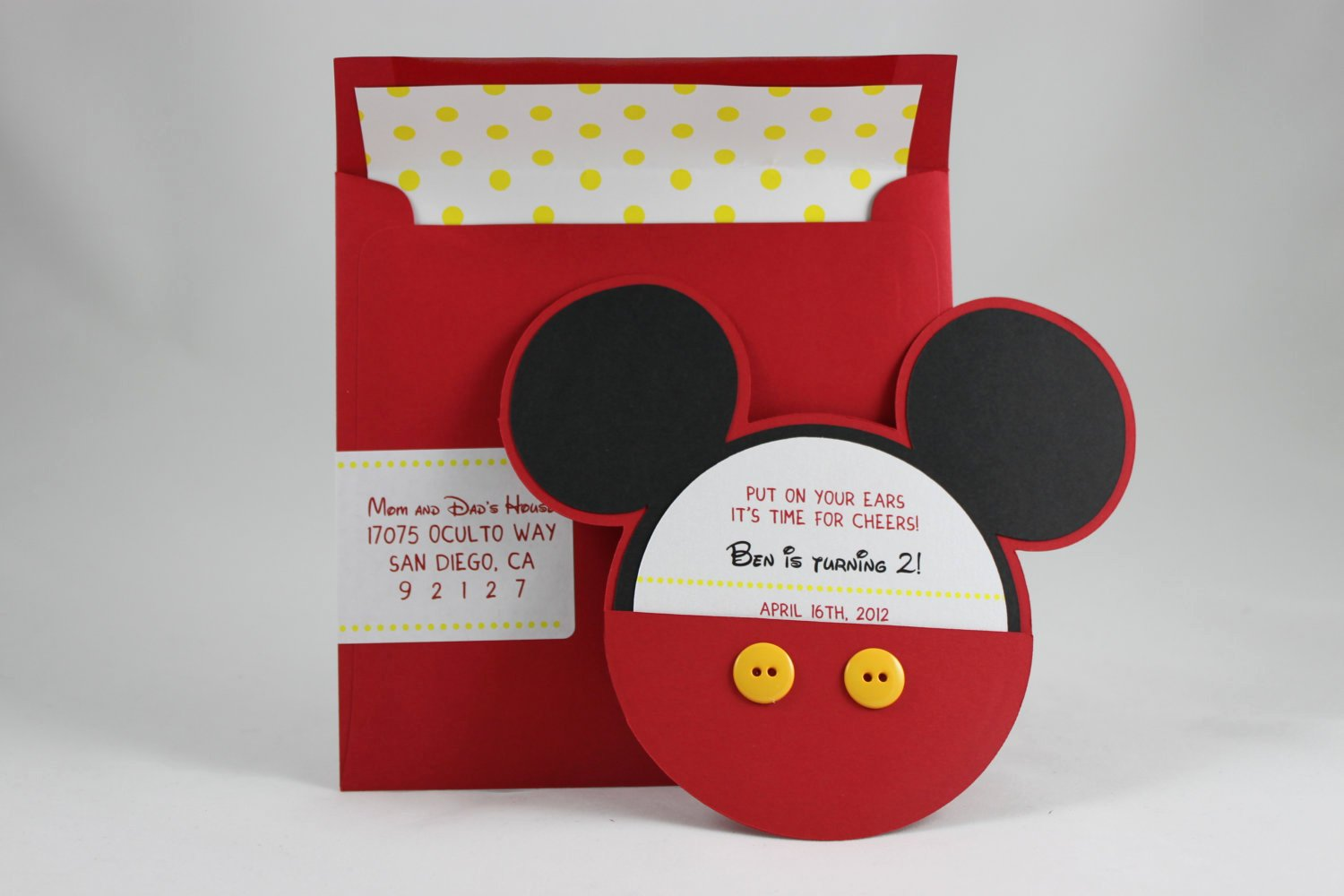 Mickey Mouse Picture Invitations Beautiful Mickey Mouse Invitation