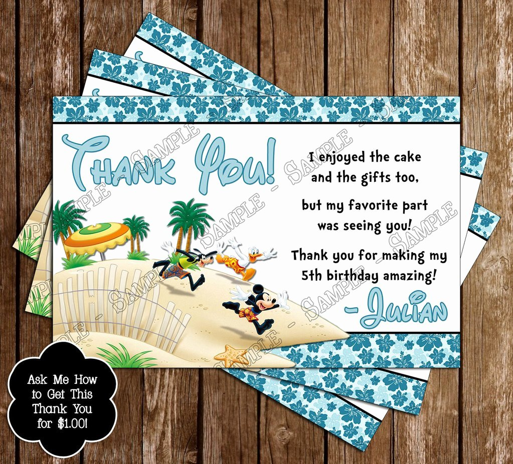 Mickey Mouse Pool Party Invitations Lovely Novel Concept Designs Disney Mickey & Minnie Mouse Pool