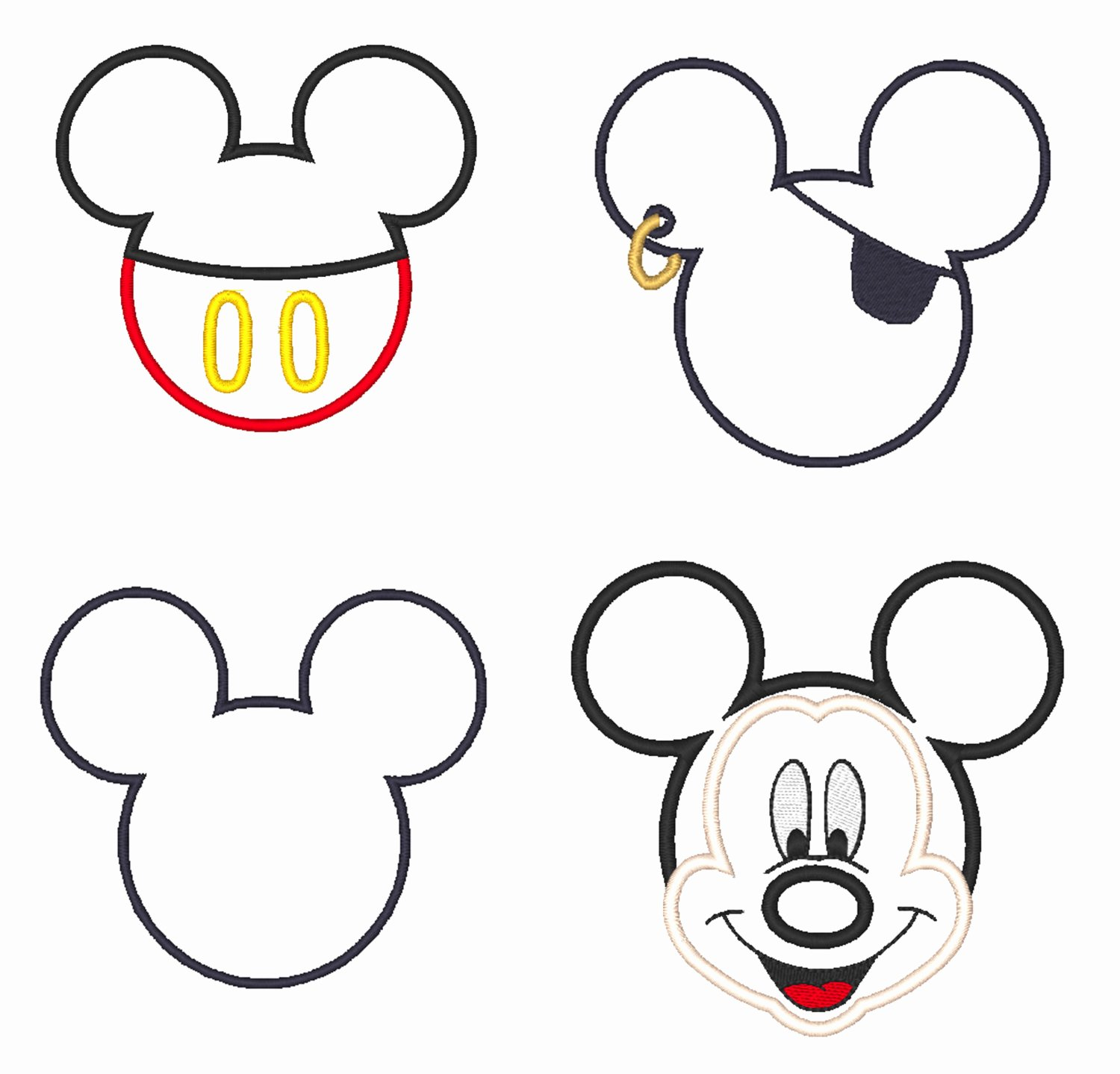 Mickey Mouse Templates Free Best Of Free Outline Mickey Mouse Download Free Clip Art Free