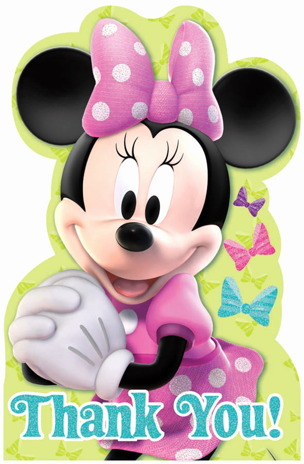 Mickey Mouse Thank You Notes Best Of Disney Minnie Mouse Bowtique Thank You Notes