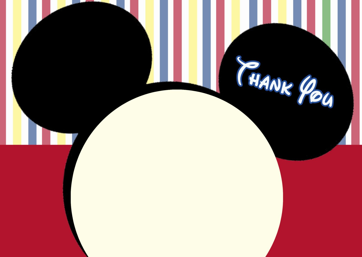 Mickey Mouse Thank You Notes Luxury Mickey Mouse Clubhouse Thank You Cards Mickey Mouse Note