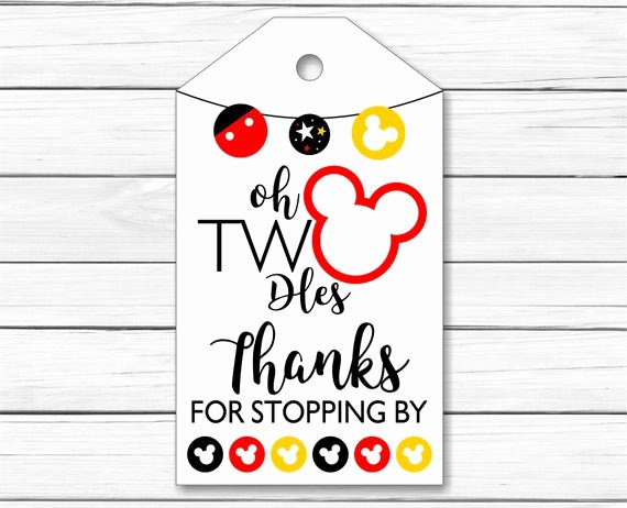 Mickey Mouse Thank You Tags Best Of Mickey Mouse Thank You Tags Printable Mickey Mouse Thank You