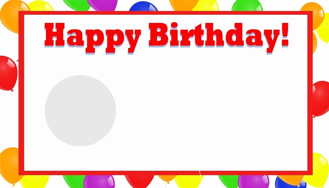 Microsoft Birthday Card Templates Inspirational Happy Birthday Template Word