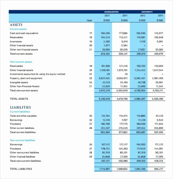 Microsoft Excel Income Statement Template Awesome 6 Free In E Statement Templates Word Excel Sheet Pdf