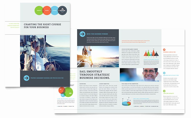 Microsoft Office Brochure Template Best Of Business Analyst Brochure Template Word & Publisher