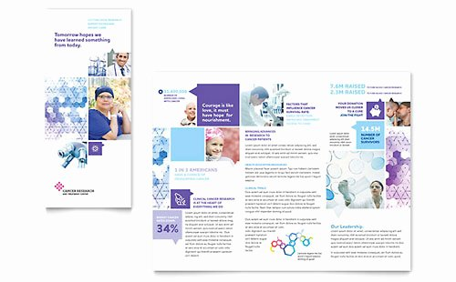Microsoft Office Brochure Template Fresh Medical & Health Care Tri Fold Brochure Templates Word
