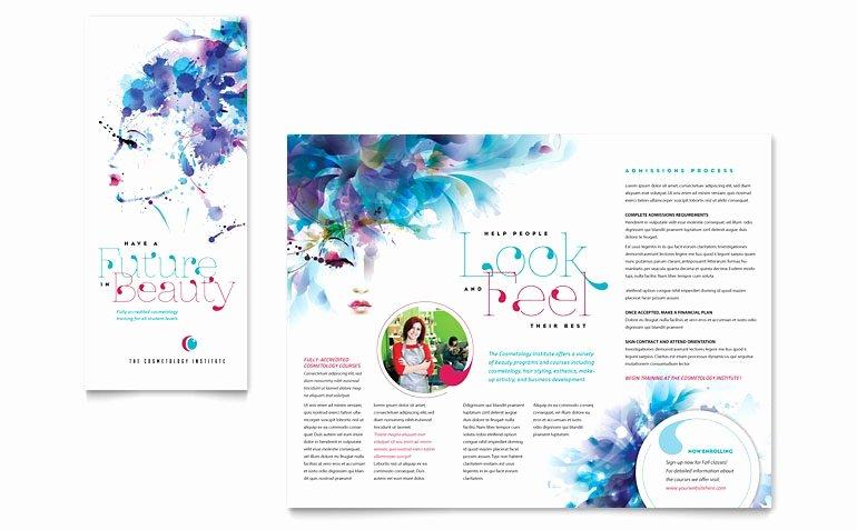 Microsoft Office Brochure Template Lovely Tri Fold Brochure Template Microsoft Word